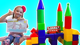 London Bridge is Falling Down Song for kids | Lisa and Dad play fun