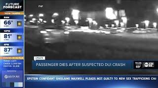 Fatal DU  Crash Captured On Video