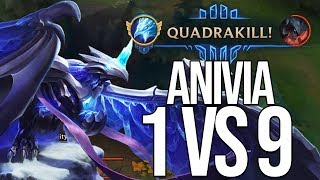 Anivia 1 vs 9 | Streamperle von Johnny