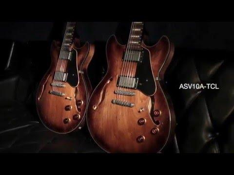 IBANEZ ASV10A-TCL - guitare électrique