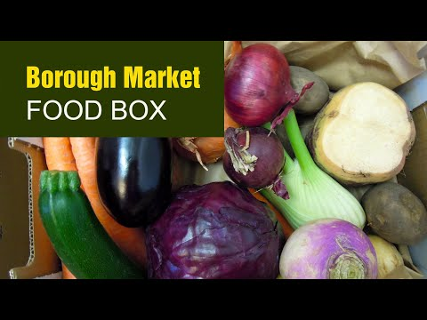 Borough Market Food Box: Fresh Fruit and Veg, Eggs, Bakery, Cheeses and prompt delivery in London