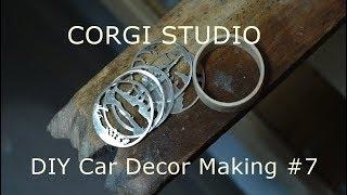 make a Silver Wood car Decor /…