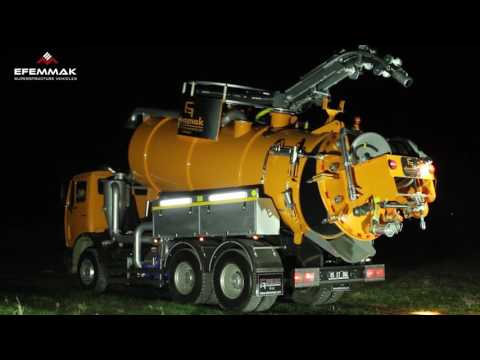 Combined Sewer Cleaning Machine