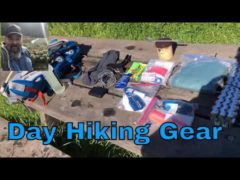 My Day Hiking Gear - Spring 2018