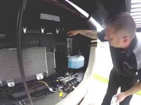 Checking RV Fluids
