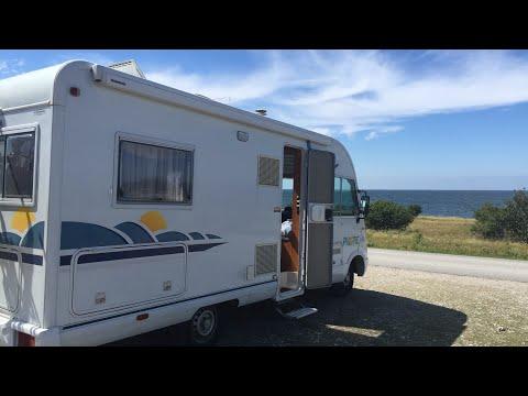 Gotland runt med husbil