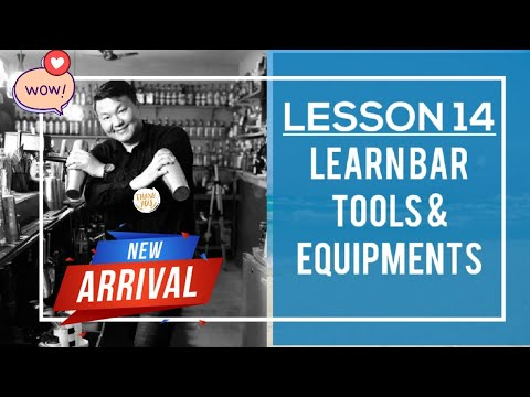 Lesson-14 Learn Different Types Of Bar Tools & Equipment's With Bartender Of Nepal