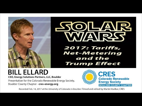 Solar Wars 2017 & The Trump Effect - Bill Ellard