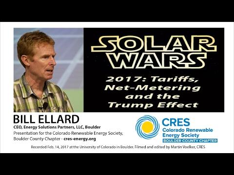 Solar Wars 2017 & The Trump Effect - Bill Ellard