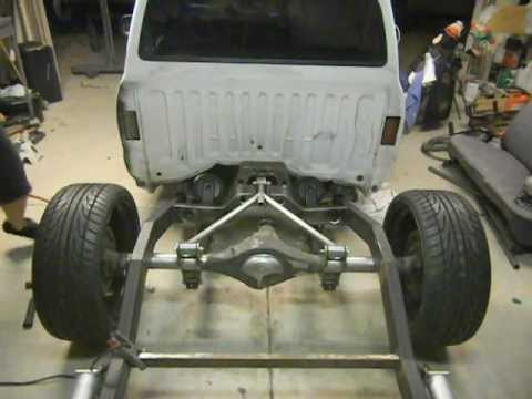 Cantilever Three Link Air Ride Suspension Youtube