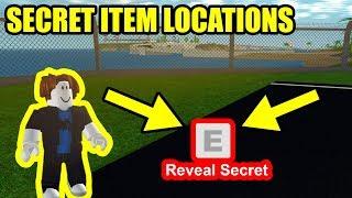 ALL 3 SECRET ITEM LOCATIONS!!! | Roblox Mad City