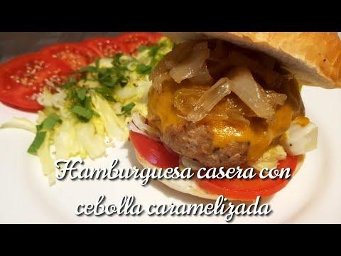 HAMBURGUESAS caseras en MENOS DE 5 MINUTOS - Jugosas y Deliciosas