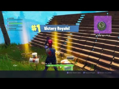Epic Fortnite  win New! Mode! Solid Gold!