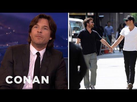 Jason Bateman Explains His Will Arnett Paparazzi Pics  - CONAN on TBS