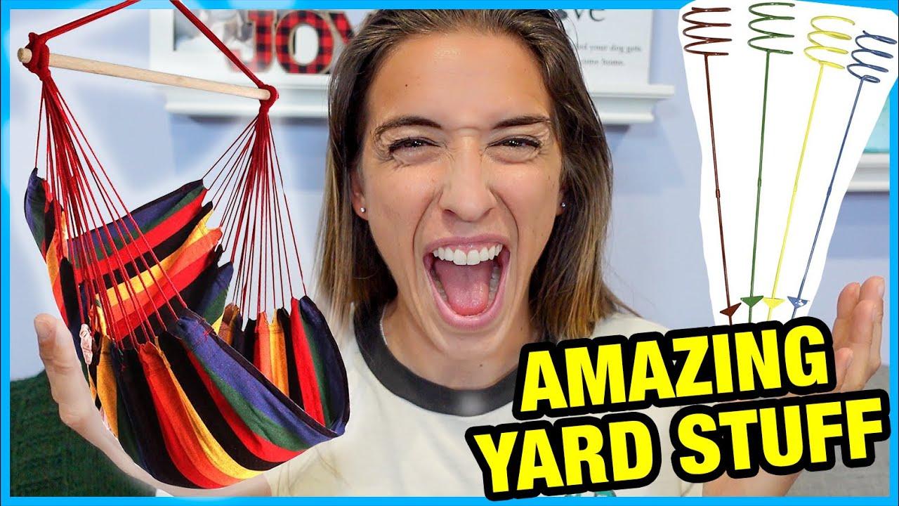 4 AMAZING Yard Products!