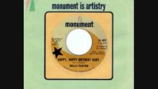"DOLLY PARTON 1965 rare ""Happy Happy Birthday Baby"" 45"