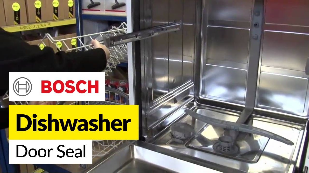 How To Replace A Dishwasher Door Seal On A Bosch