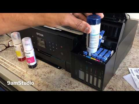 Unboxing Epson Ecotank 7750