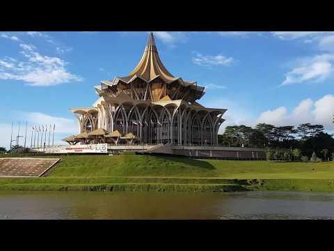Dewan Undangan Negeri Sarawak from river view