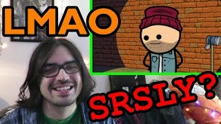 Pothead Reacts 2 HaHa Hobo - Cyanide & Happiness Shorts