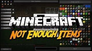 Como ver lo crafteos en minecraft - NEI (Not enough Items)Mod-Minecraft 1.5.2/1.6.4/1.7.2/1.7.10/1.8