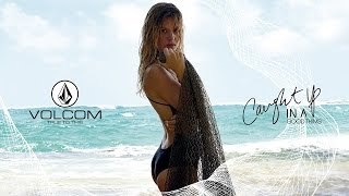 Caught Up In A Good Thing | Simply Solid Swimsuits | Volcom Womens