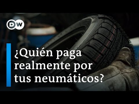 El caucho para neumáticos