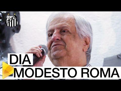 Santos FC celebra o Dia Modesto Roma