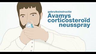Avamys corticosteroïd neusspray