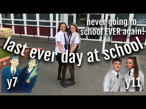 last ever day at school thumbnail