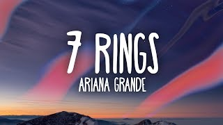 Ariana Grande - 7 rings (Lyrics) Video