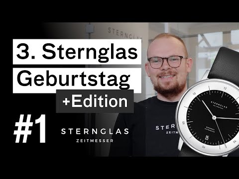 3. Sternglas Geburtstag + NEUE Edition!