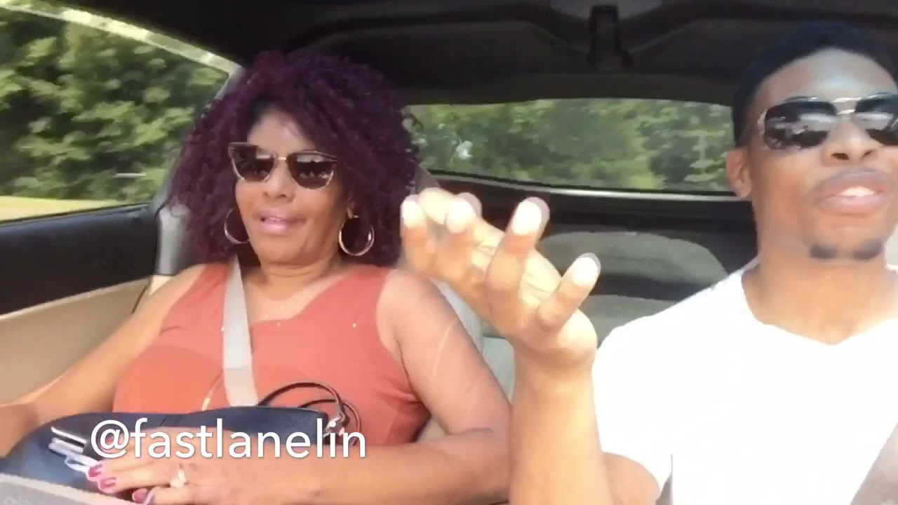 Moms First Ride In Corvette !!