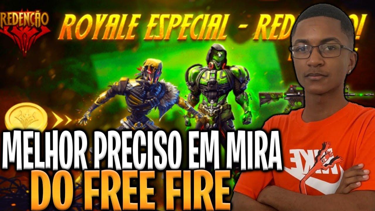 🔥 FREE FIRE - AO VIVO 🔥 NOVO ROYALE ESPECIAL 🔥 PRECISO EM MIRA 🔥 #20K