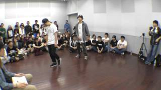Re:9 + kenT vs 2 way クルー BEST32 FREESTYLE SIDE / RUN UP! × ばとる☆マギカ vol.2