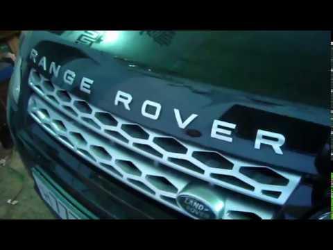 Range Rover автоматическая тонировка Оренбург