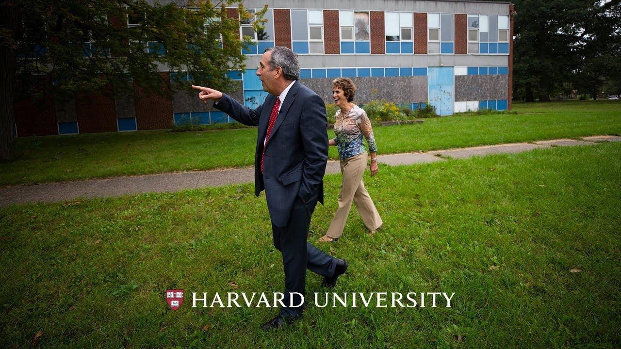 Harvard president returns to Michigan roots – Harvard Gazette