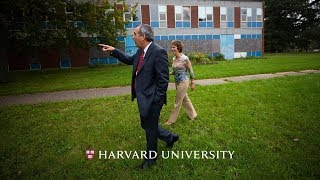 Harvard's new president Larry Bacow returns to his roots thumbnail