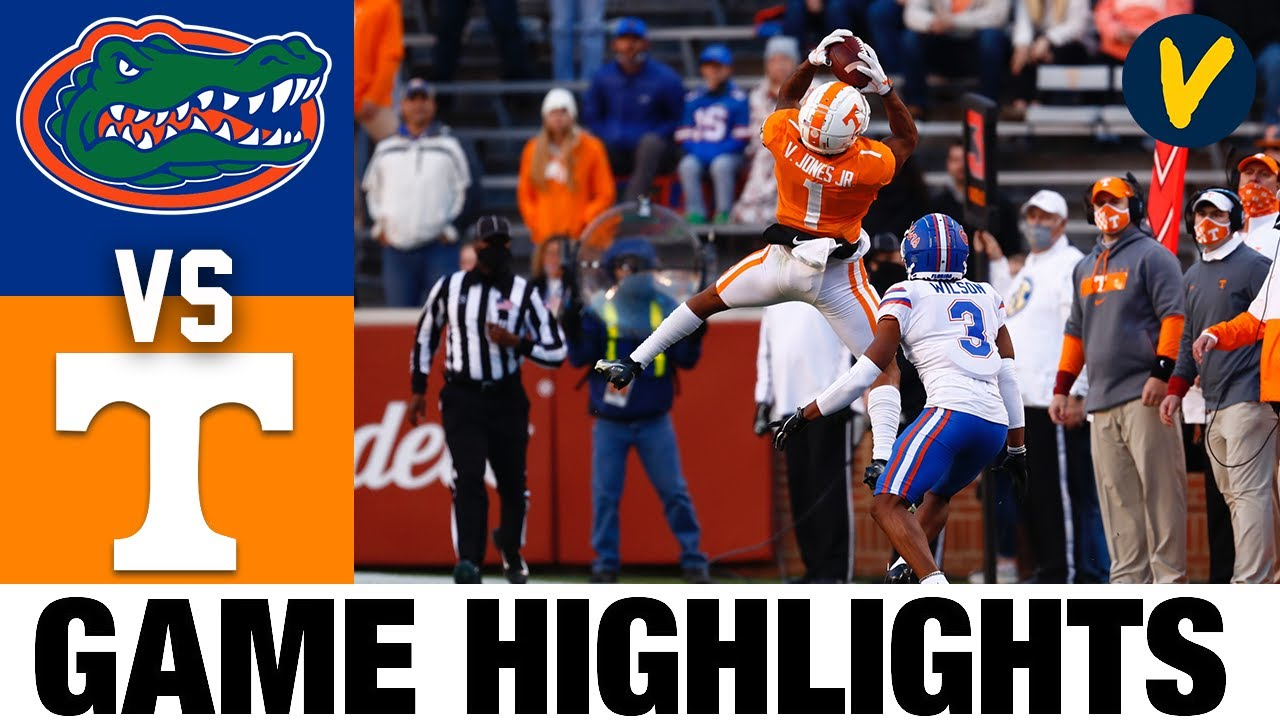 6 Florida Vs Tennessee Highlights Week 14 2020 College Football Highlights Youtube