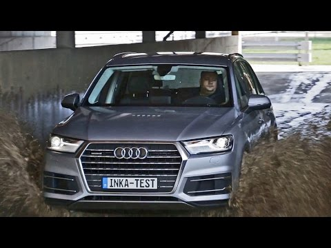 Extreme conditions for the 2016 Audi Q7 - The INKA-Test