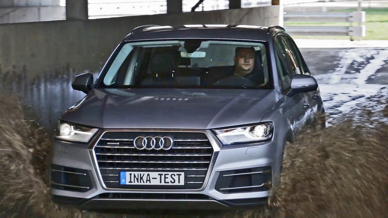 Extreme Conditions For The 2016 Audi Q7 The Inka Test