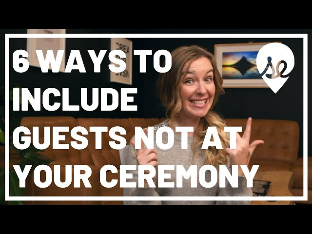 6 Top Ways to Include Guests You DON'T Invite to Your Wedding