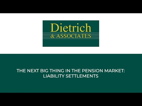 Webinar:The next big thing in the pension market, liability settlements