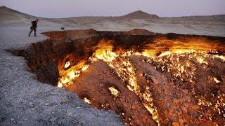 видео Газовый вулкан в Туркменистане