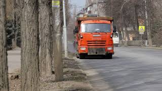 Влажная уборка улиц