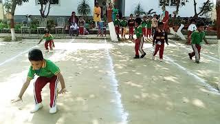 #frograce. Celebrating Sports day on Childrens day.