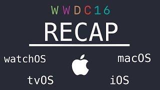 WWDC 2016 keynote in 10 minutes | ios 10, watchos 3, macos sierra, tvos