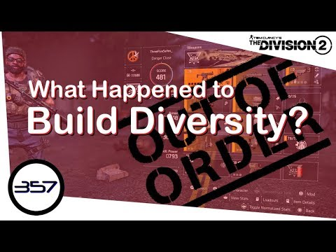 What Happened to Build Diversity? - Post Launch Review - The Division 2