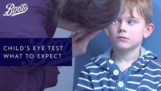 Your child's eye check - what to expect