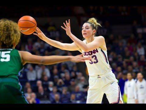 UConn Women's Basketball Highlights v. Tulane 01/27/2018